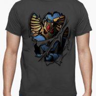 Camiseta Armadura Lobos Espaciales