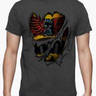 Camiseta Armadura Puños Imperiales