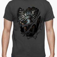 Camiseta Armadura Manos de Hierro