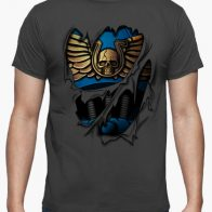 Camiseta Armadura Ultramarines